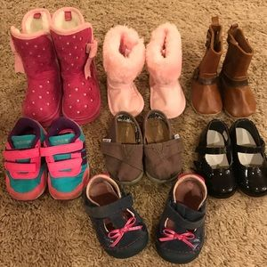 Girls Toddler Size 3 Shoes